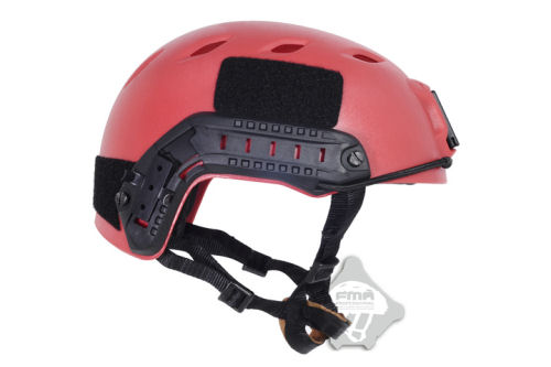 Fma Jump Fast Helmet Red Search And Rescue Edition