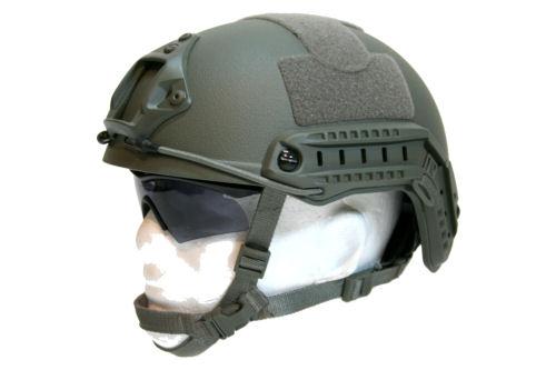 Fast Ops Core Balistic Style Helmet Foliage Green