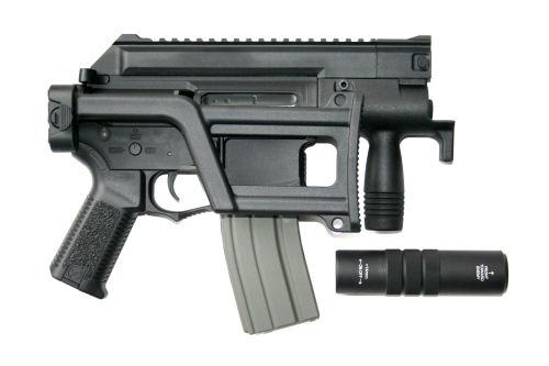 Amoeba M4 Ccc Tactical Pistol Aeg Black Tactical Center